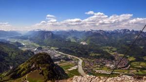 Kennst du die Berge, die Berge Tirols Das Städtchen Kufstein, das kennst du wohl