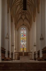 Dom zu Unserer Lieben Frau, auch Frauenkriche genannt, steht in der Münchner Altstadt.