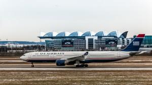 Airbus A330-323 (N270AY) der US Airways am Flughafen München