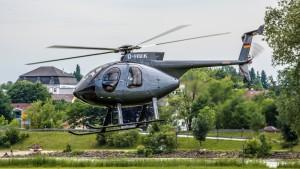 MD Helicopters MD 500 (D-HMIK) Flugplatz Vilshofen