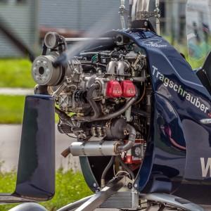 Tragschrauber MTOsport (D-MGFB) Am Flugplatz Vilshofen
