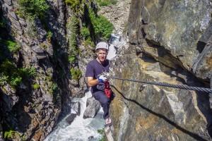 Obergurgler Klettersteig Schau wer hier schaut