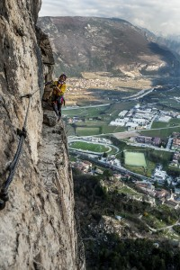 """""""Via attrezzata Monte Albano"""" - Quergang"""