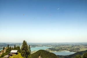 Flugwetter Auf dem Weg zur Rohrkopfhütte