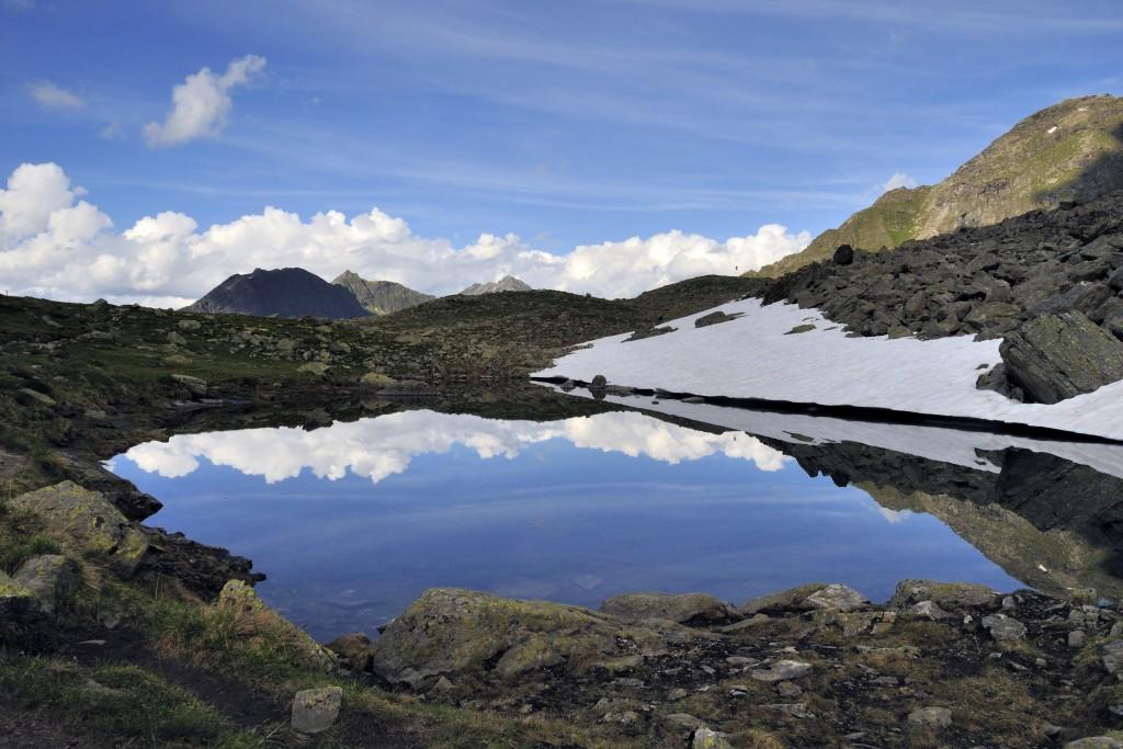 Kleiner Bergsee in der Silvretta