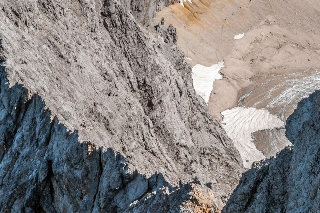 Zugspitz-Klettersteig durch das Höllental