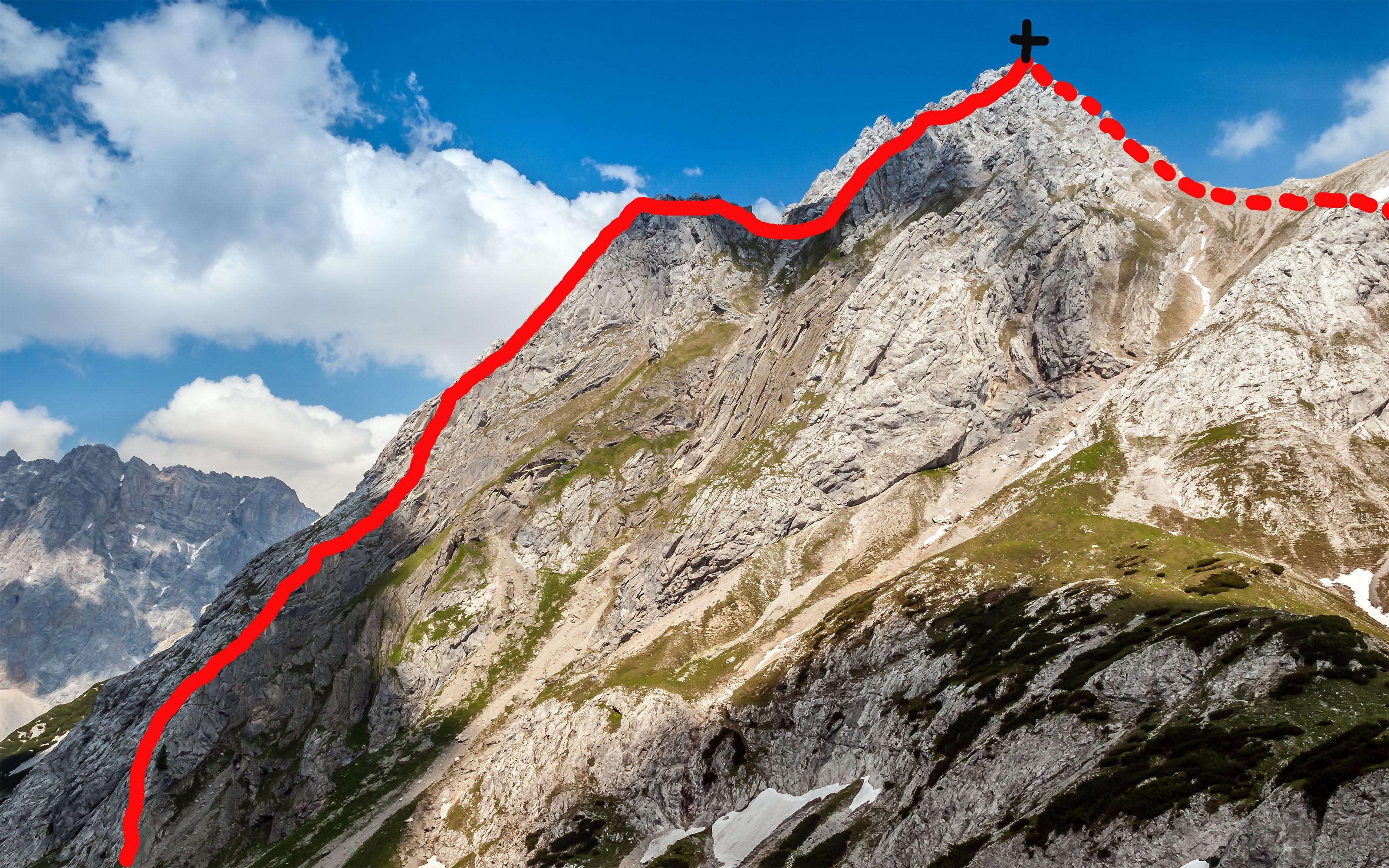 Klettersteig Ehrwald : Seeben klettersteig wgm picture