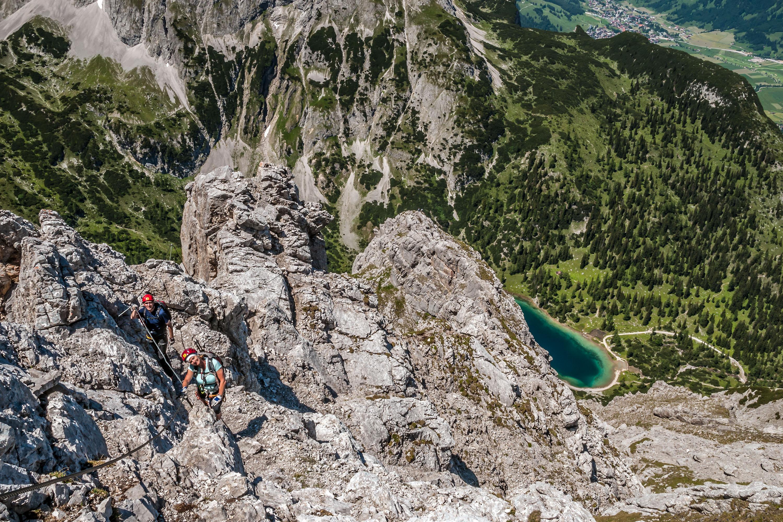 Klettersteig Coburger Hütte : Seeben klettersteig wgm picture