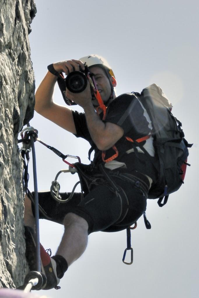 Reinhard-Schiestl Impressionen 1 Paparazzi im Fels