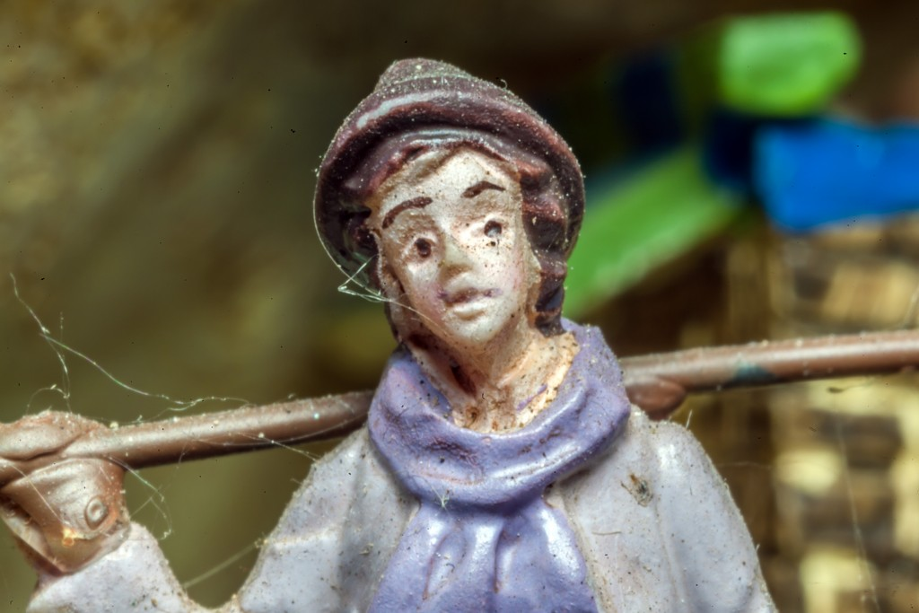 16 mm Formatfüllend Figur