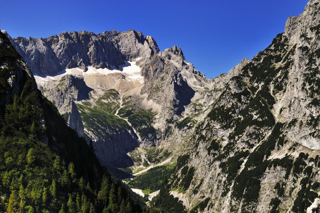 Höllental 2 Das Tal ab der Klamm bis zur Zugspitze