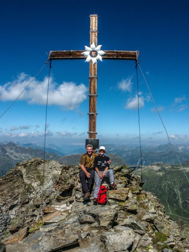 Das Hohe Rad (2934 m) in der Silvretta