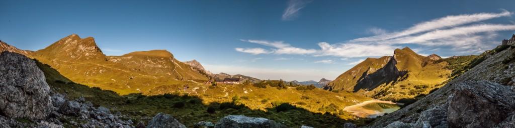 Panorama Vilsalpseeberge