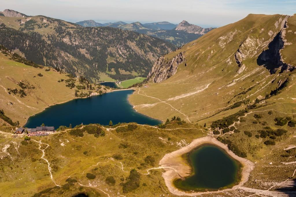 Vilsalpsee in den Vilsalpseebergen / Tannheimer Berge