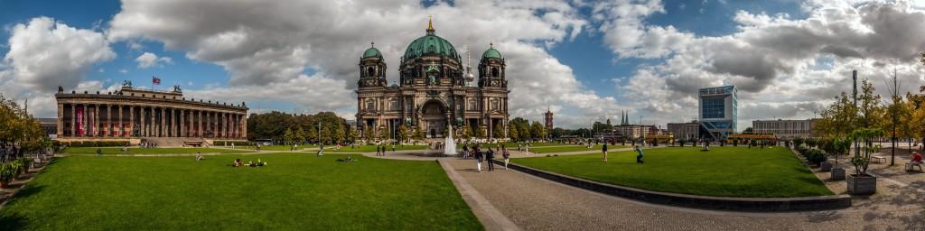 Panorama Berliner Dom