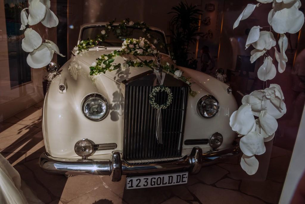 """""""Hochzeitskutsche"""" - ein wunderbarer Rolls-Royce"""