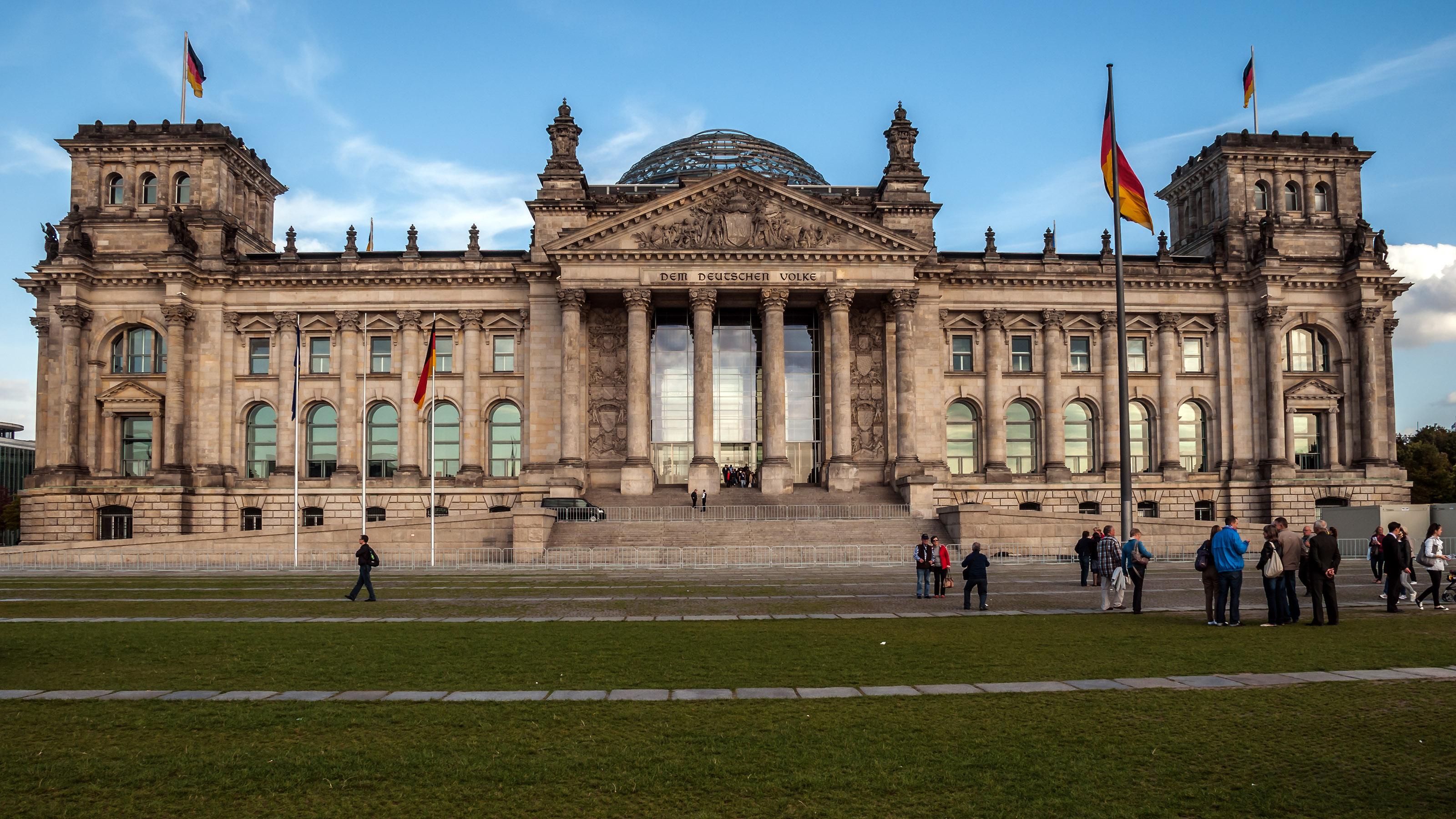 Reichstagsgebäude Panorama   WGM-Picture  Reichstagsgebä...