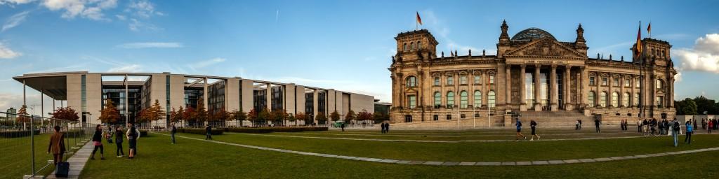 Reichstagsgebäude Panorama