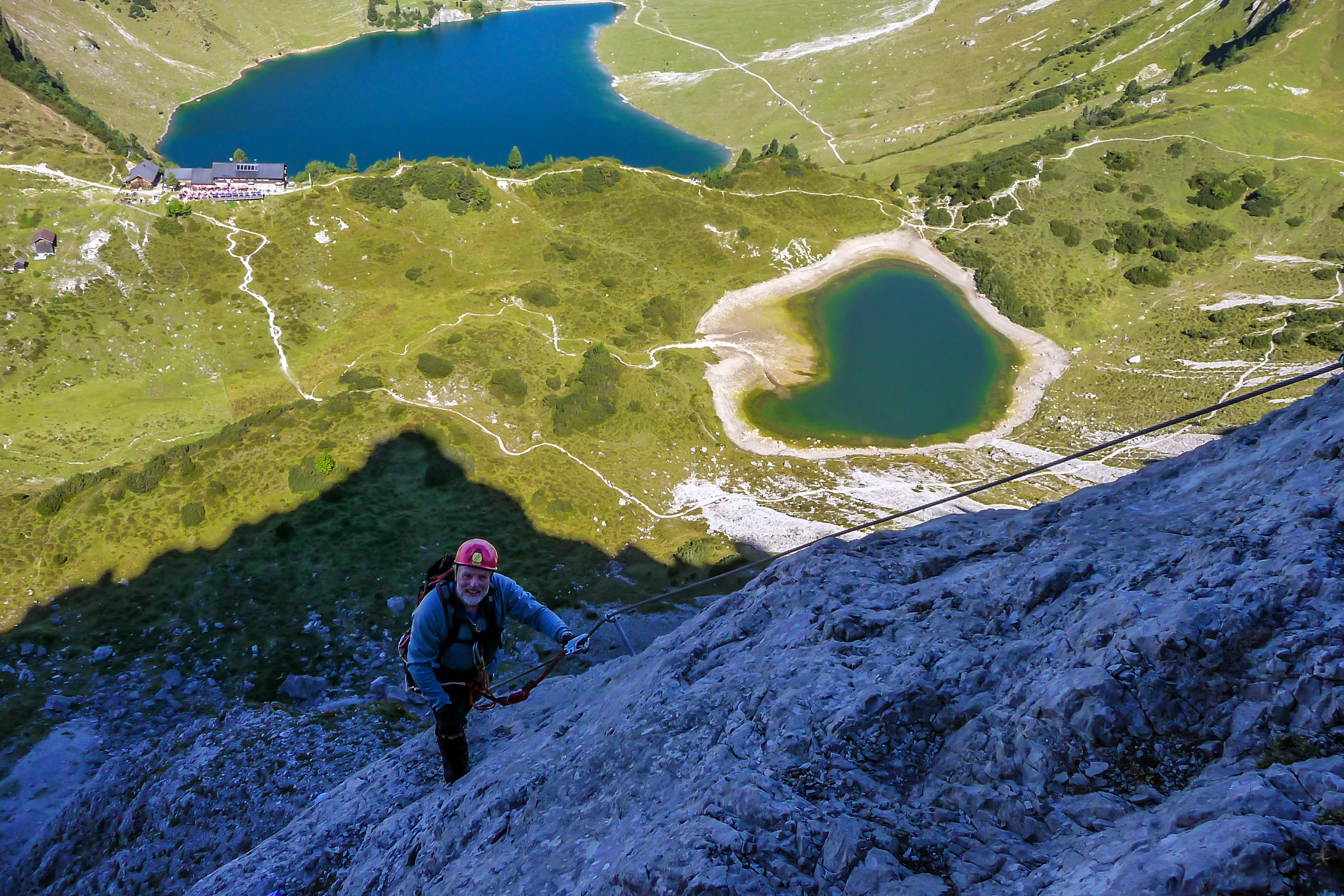 Klettersteig Lachenspitze : Klettersteig lachenspitze wgm picture