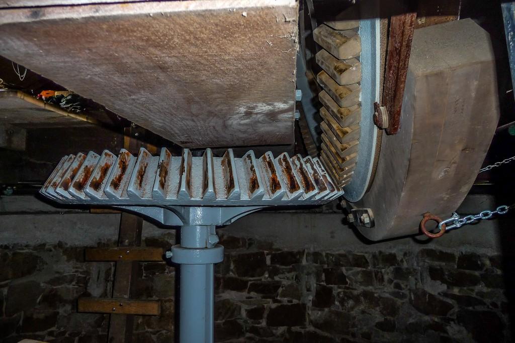 Windmühle Exter 2 - das Mpühleninnere