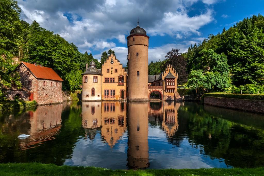 Wasserschloss Mespelbrunn im Spessart