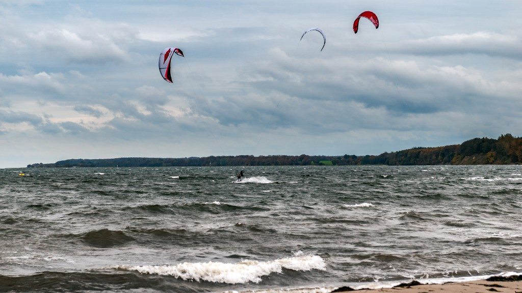 Kitesurfen an der Ostsee