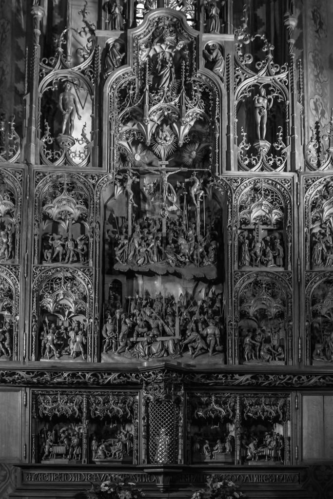 Brüggemann-Altar Im St.-Petri-Dom zu Schleswig