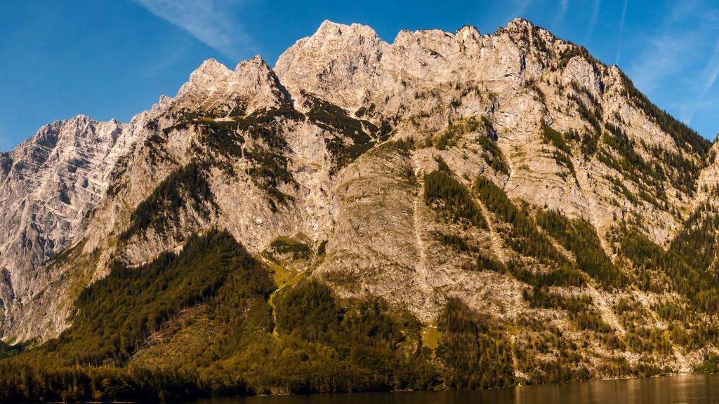Watzmann Panorama - Ausschnitt