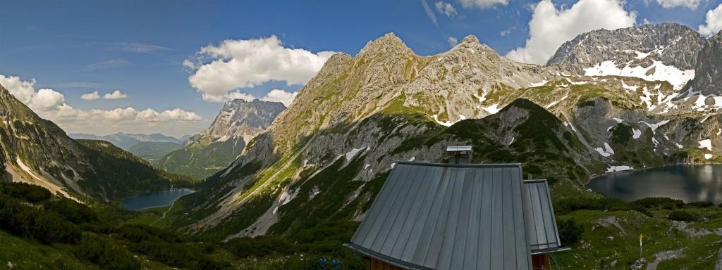 Coburger Hütte Panorama