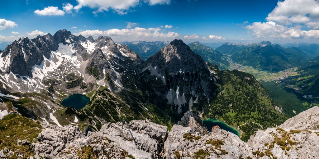 Panorama aus dem Tajakanten-Klettersteig