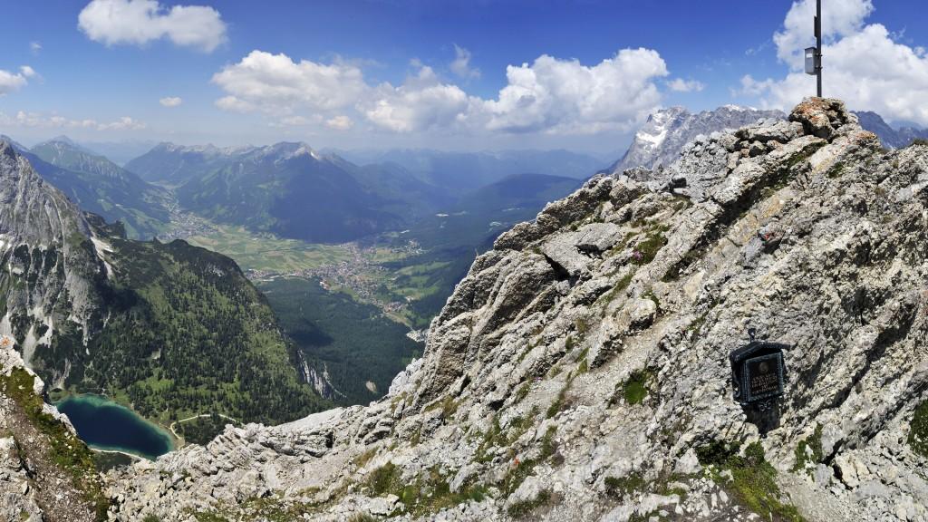 360° Panorama vom Vorderen Tajakopf Ausschnitt