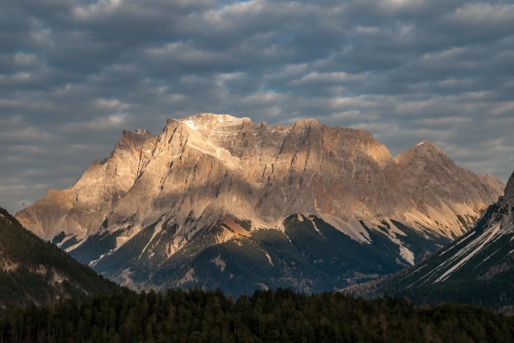 Licht und Wolken im Wettersteingebirge