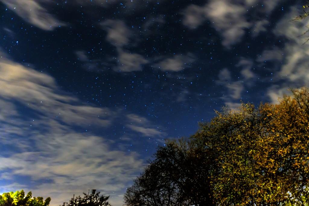 Nachthimmel am 4.11.2015 und 2:16 Uhr