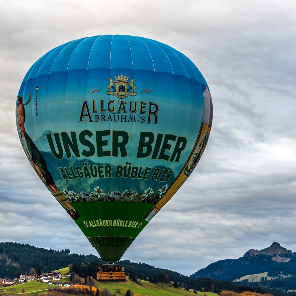 Heißluftballon: Wera startet