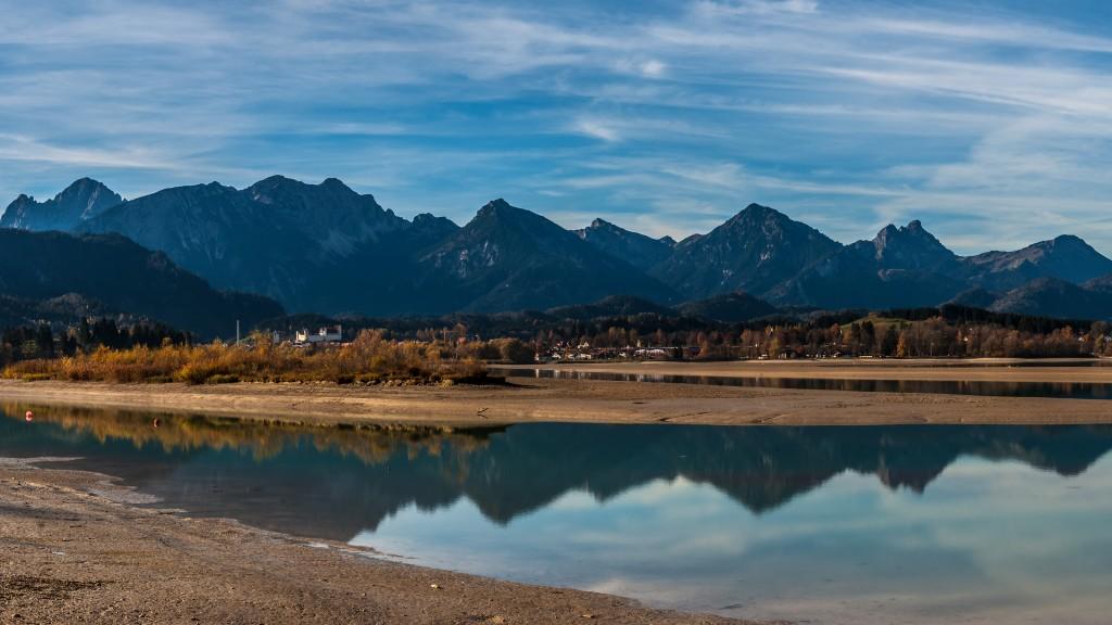 Forggensee-Panorama Ausschnitt - Vorschaubild