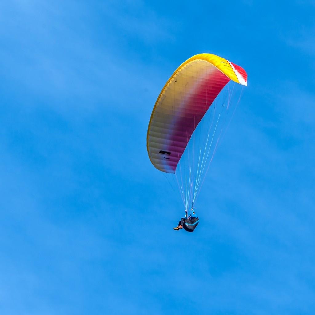 Paraglider am Tegelberg 1