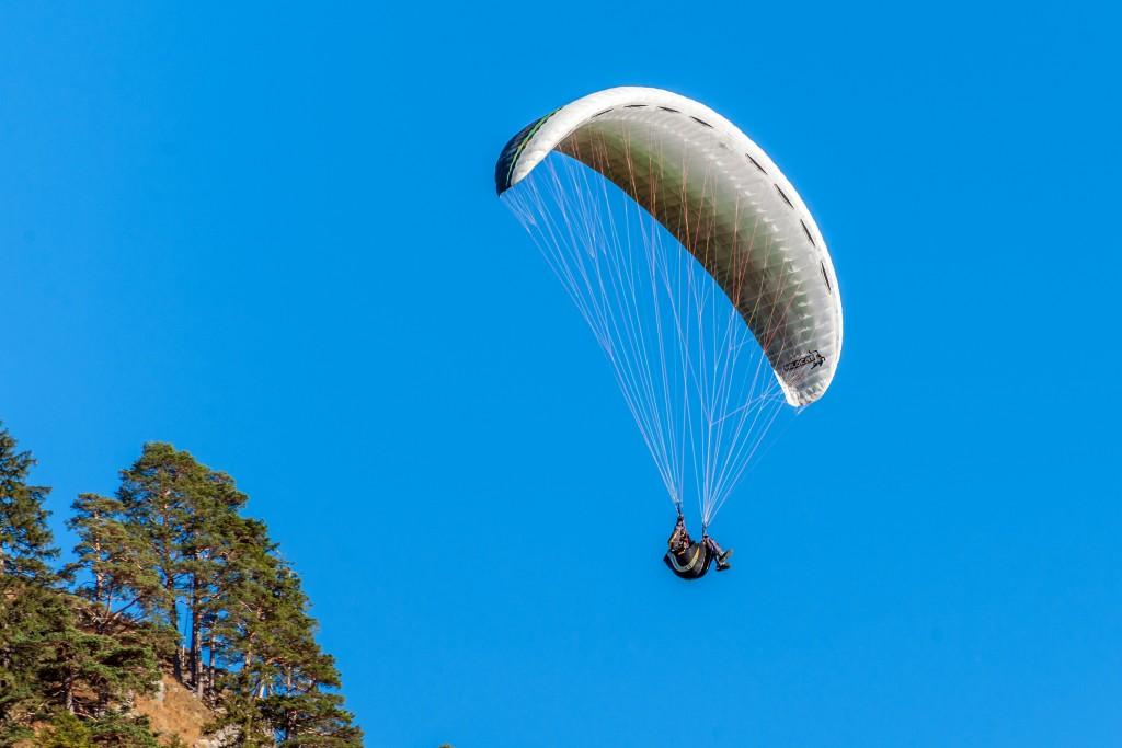 Paraglider am Tegelberg 2