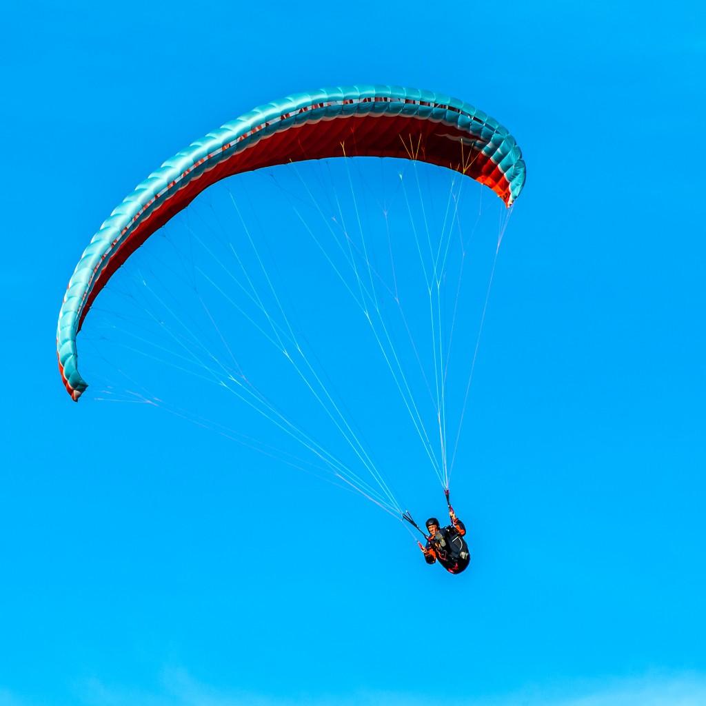 Paraglider am Tegelberg 3