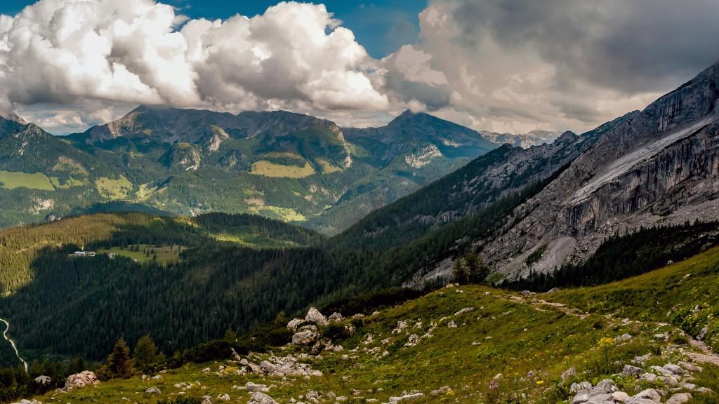 Panoramablick ins Göllmassiv - Ausschnitt als Vorschaubild