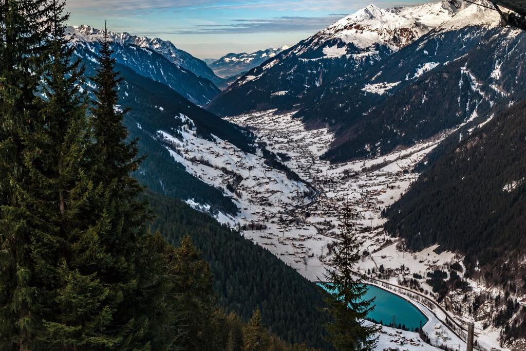 Das Montafon im Winter