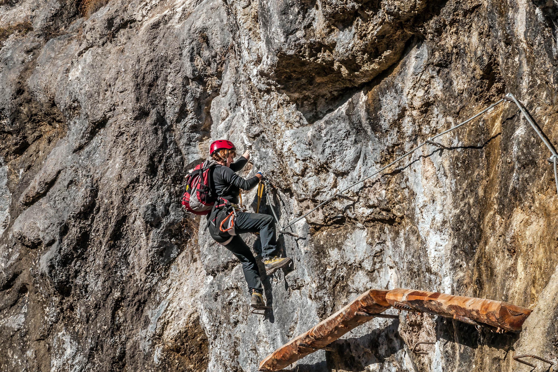 Klettersteig Hausbachfall : Klettersteig am hausbachfall wgm picture
