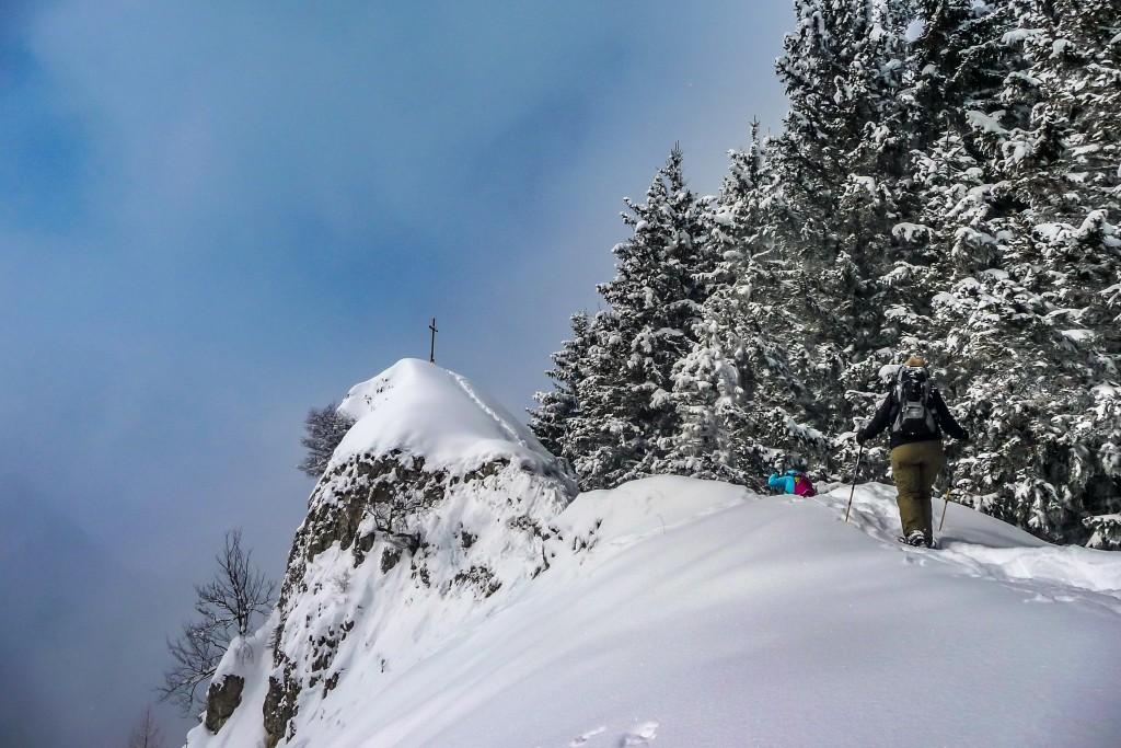 Schneeschuhtour auf den Rehleitenkopf 2