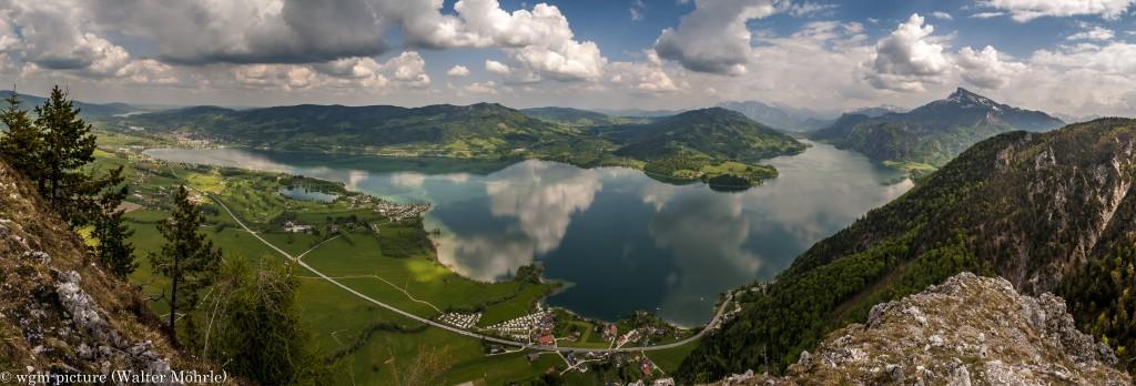 Mondsee-Panorama