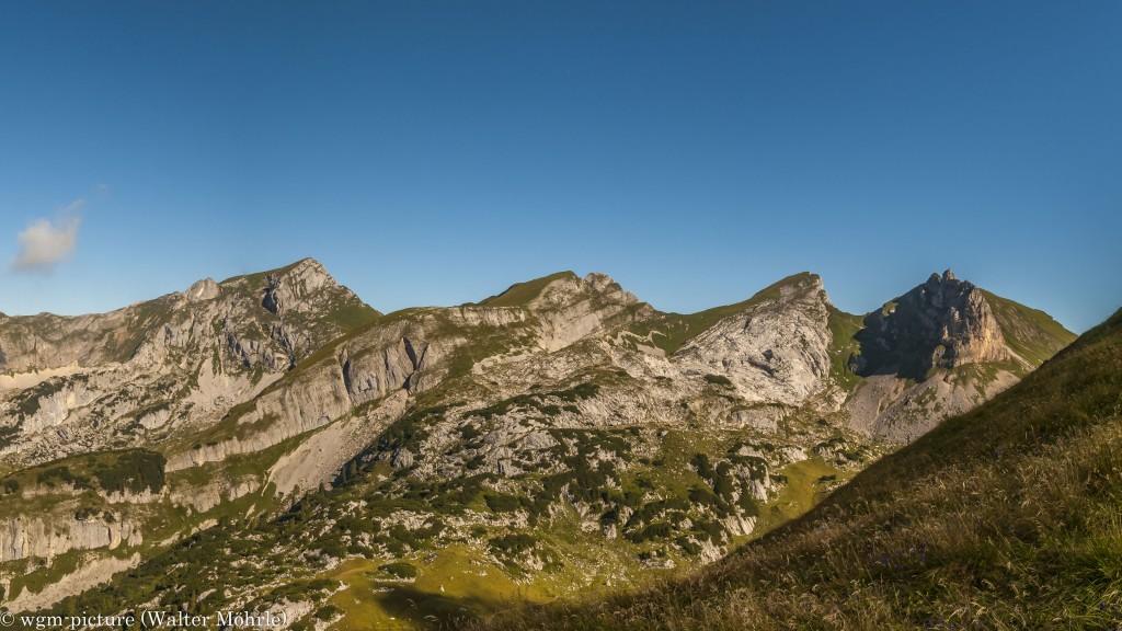Panorama Achensee-5-Gipfel-Klettersteig - Ausschnitt