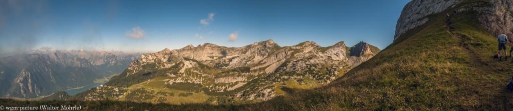 Panorama Achensee-5-Gipfel-Klettersteig