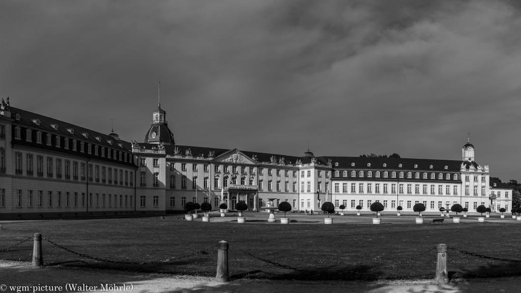 Panorama Schloss Karlsruhe 1 - Ausschnitt