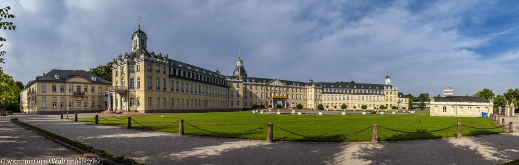 Panorama Schloss Karlsruhe 1