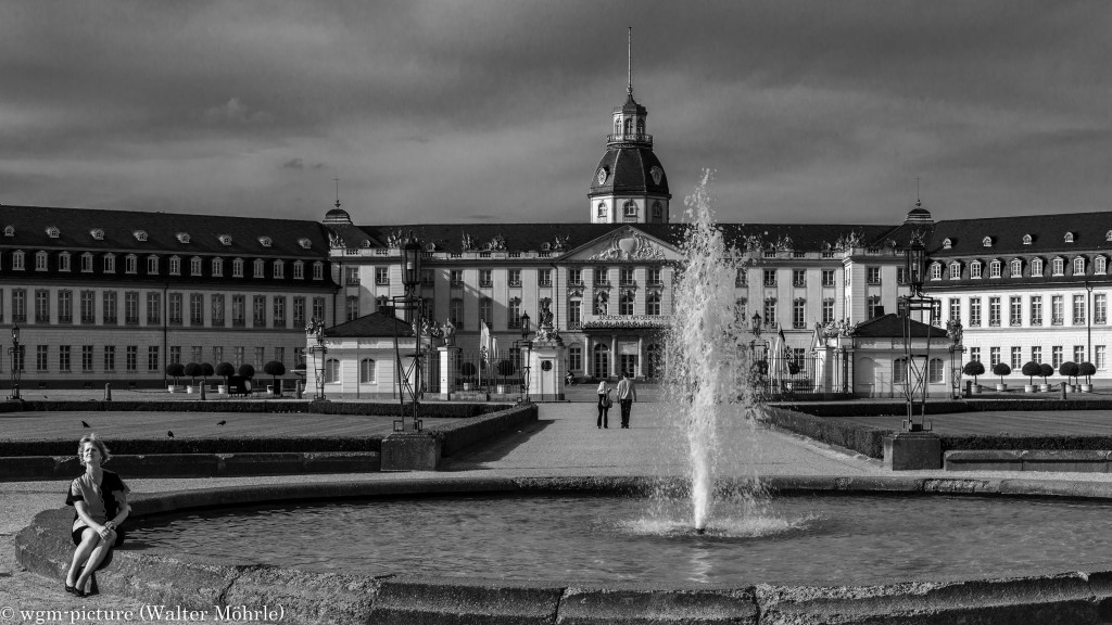 Panorama Schloss Karlsruhe 2 - Ausschnitt