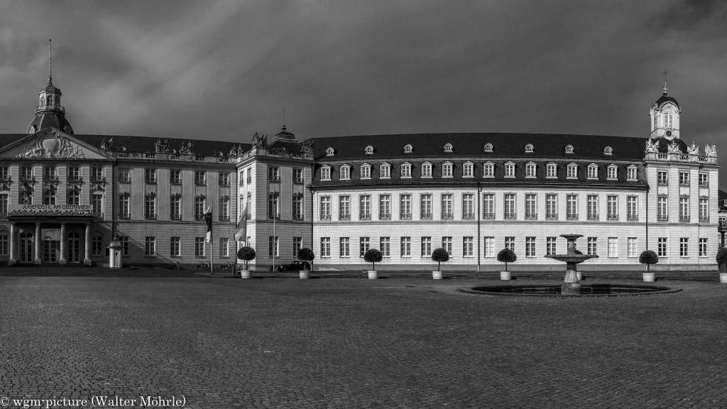 Panorama Schloss Karlsruhe 3 - Ausschnitt