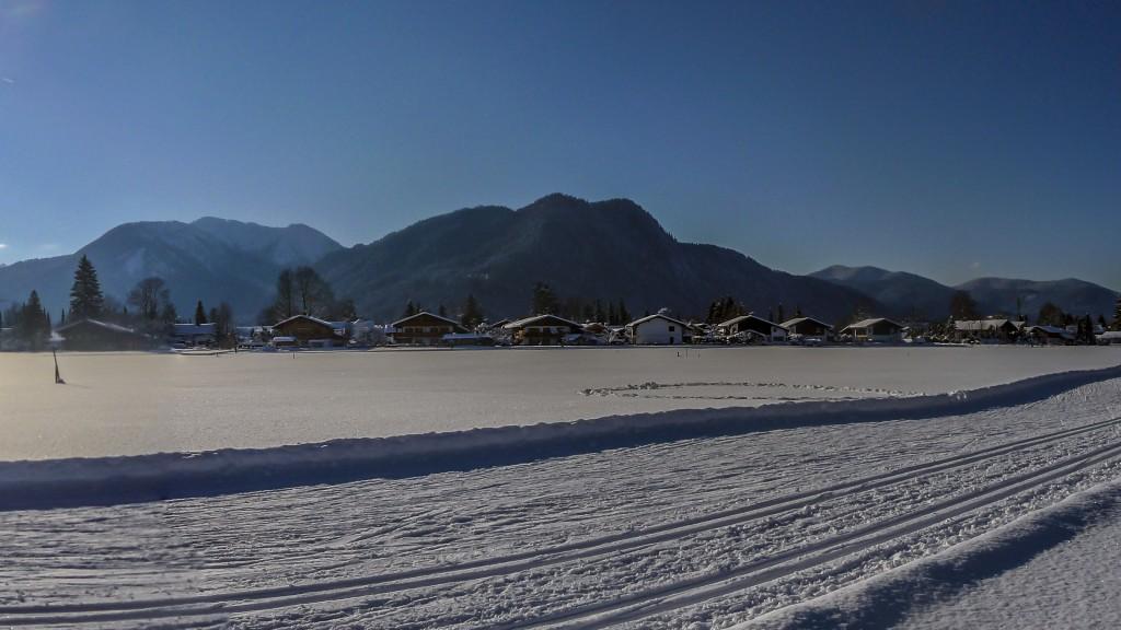 Panorama Schneeschuhwanderung 2 - Ausschnitt